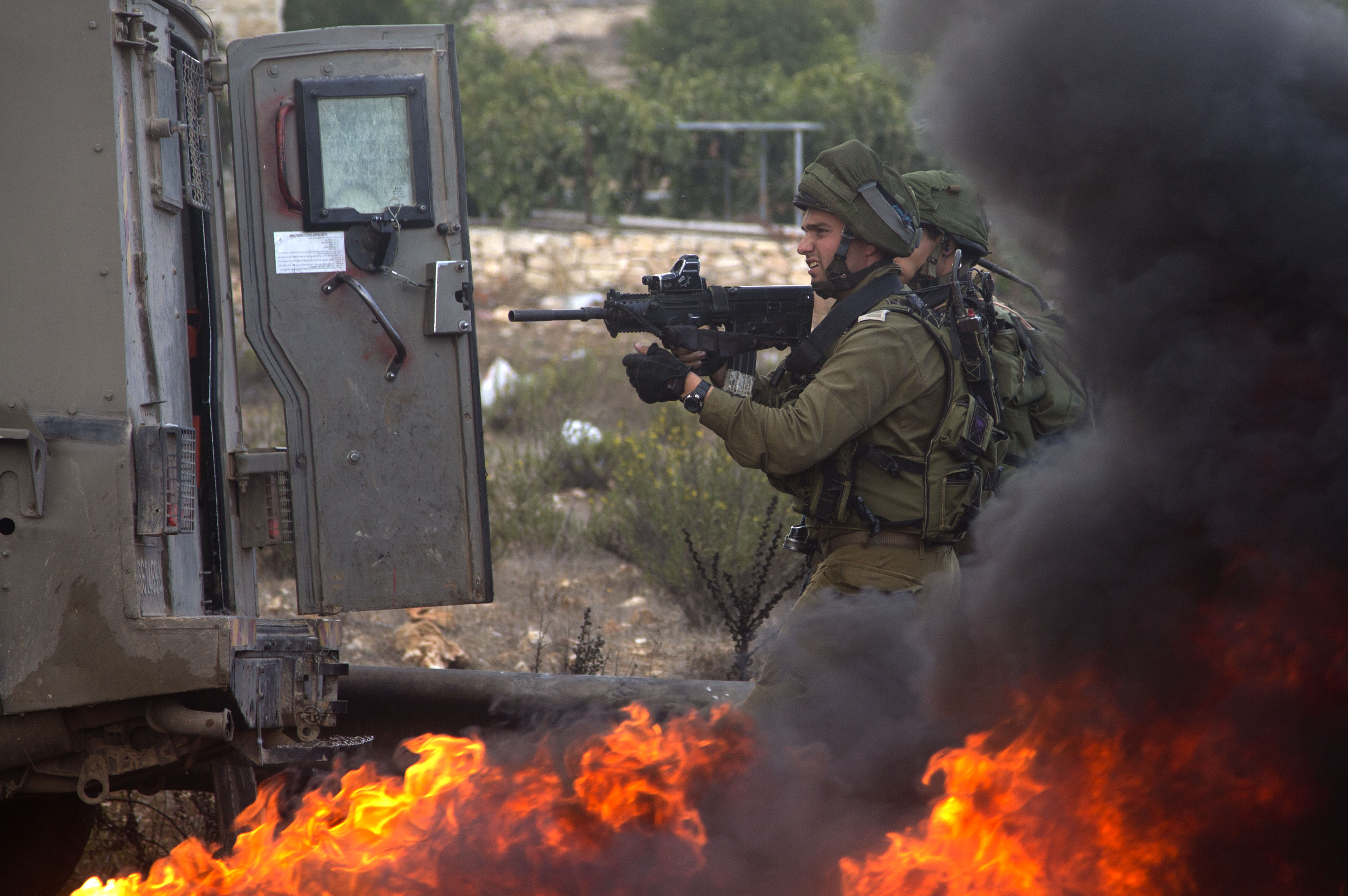 The Latest: Palestinian envoy to UN wants emergency meeting