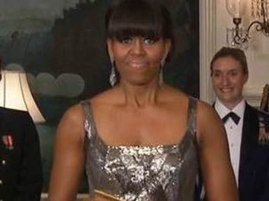 First Lady's Oscars Appearance …