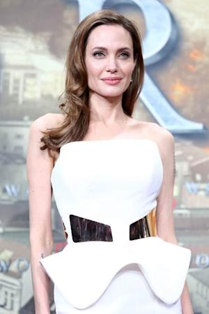 Angelina Jolie attends 'World War Z' Germany premiere at Sony Centre on June 4, 2013 in Berlin -- Getty Images