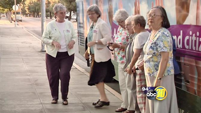 Nuns on a bus support immigration reform