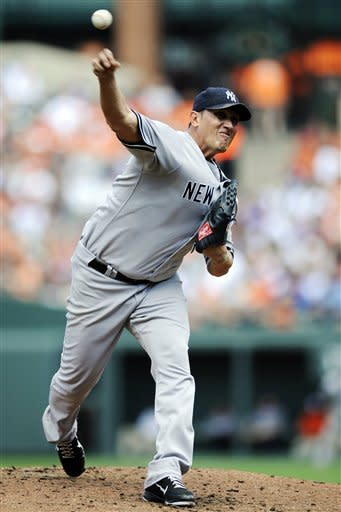 Yankees rout Orioles 13-3, reclaim AL East lead