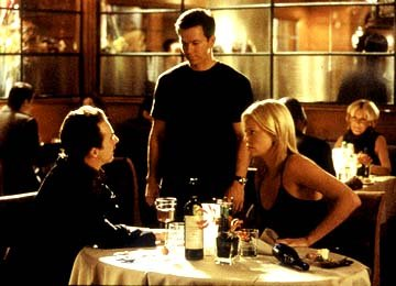 Edward Norton , Mark Wahlberg and Charlize Theron in Paramount's The Italian Job