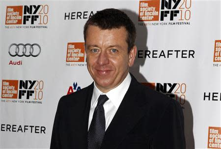 "Screenwriter Peter Morgan arrives at the closing night screening of ""Hereafter"" at the 48th New York Film Festival"