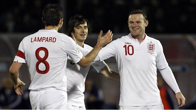 World Cup - England put eight past San Marino