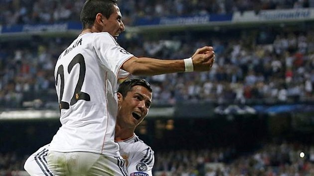 Angel Di Maria and Cristiano Ronaldo (Reuters)