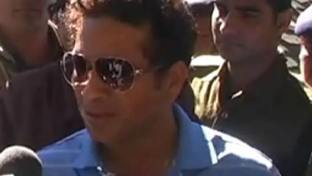 Sachin enjoyed vacation in Mussoorie