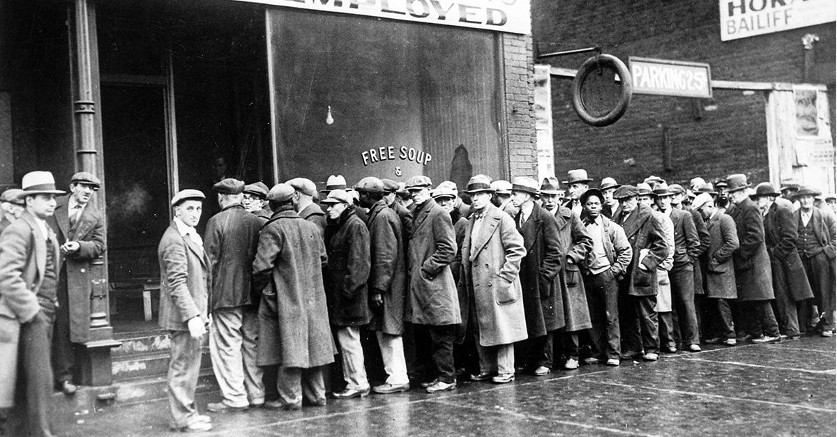 Are We Headed Towards the Next Great Depression?