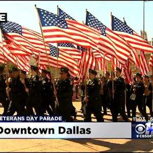 Veterans Day Parade In Dallas