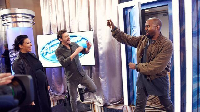 Kanye West Makes Surprise Appearance at 'American Idol' Auditions in San Francisco