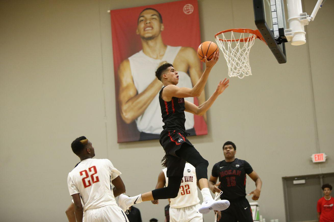 AAU season is in full swing. These are the top recruits in the class of 2017