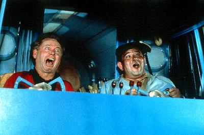 Mickey Rooney and Buddy Hackett in MGM's It's A Mad, Mad, Mad, Mad World