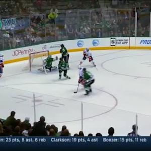 Kari Lehtonen Save on Thomas Hickey (01:59/OT)