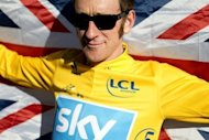 Tour de France champion and Olympic gold medallist Bradley Wiggins, pictured in July 2012. British cyclist Wiggins has left hospital after being hit by a car while riding his bike near his family home