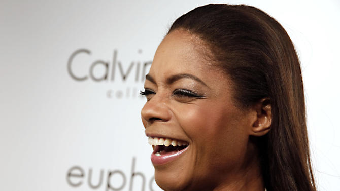 Actress Naomie Harris arrives at the Calvin Klein party, in Cannes, southern France, Thursday, May 16, 2013. (Photo by Todd Williamson/Invision/AP)