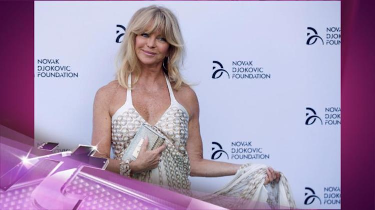 Entertainment News Pop: Goldie Hawn Tweets About Arrival of Granddaughter Rio, Oliver Hudson's Third Child