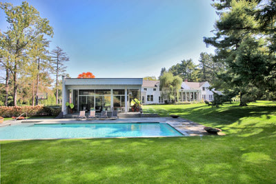 Strawberry Ridge, a zen-like estate in Fairfield County, Conn. is being offered for sale for $5.25 million. Owned by New York power couple Gerald Rosenfeld and Judith Zarin, the sale is being brokered by Karla Murtaugh of Neumann Real Estate, an exclusive affiliate of Christie's International Real Estate.