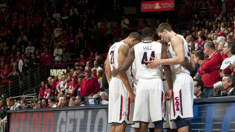 NCAA Basketball: Utah at Arizona