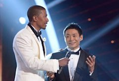 Nick Cannon, Kenichi Ebina | Photo Credits: Virginia Sherwood/NBC