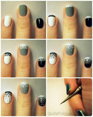 Dip N' Dot Nails