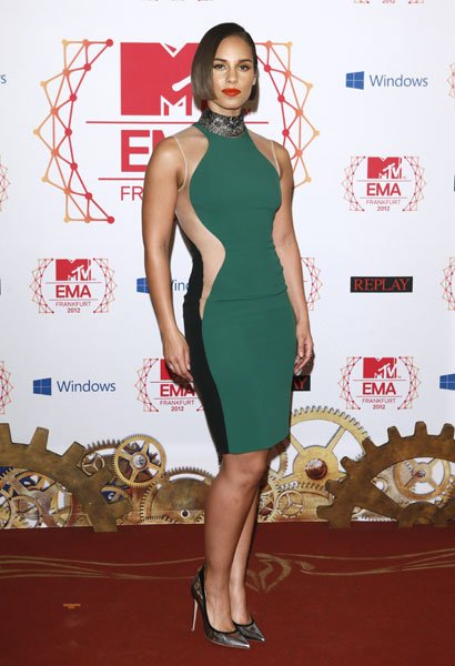 Best dressed: Alicia Keys