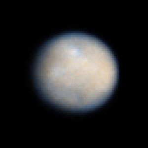 Dwarf Planet Ceres Could Harbor Ice Underground