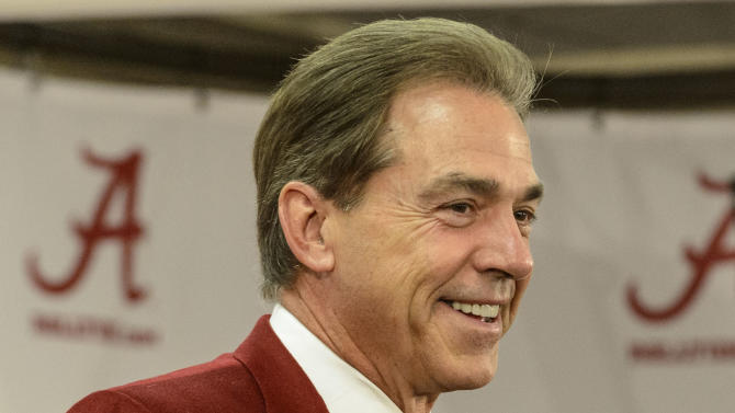 Saban's new deal worth nearly $7 million a year