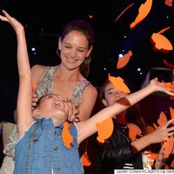 Suri Cruise Had The Time Of Her Life At The Kids' Choice Awards
