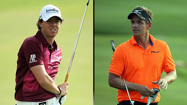 Rory McIlroy, Luke Donald