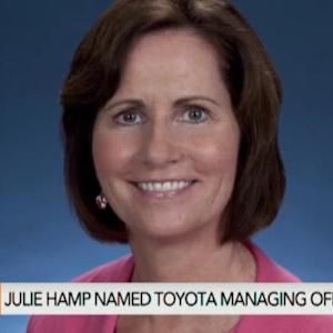 Toyota Shakes Up Management, Names First Female Executive
