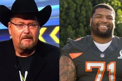 Jim Ross makes promo video for Trent Williams celebrating his new contract