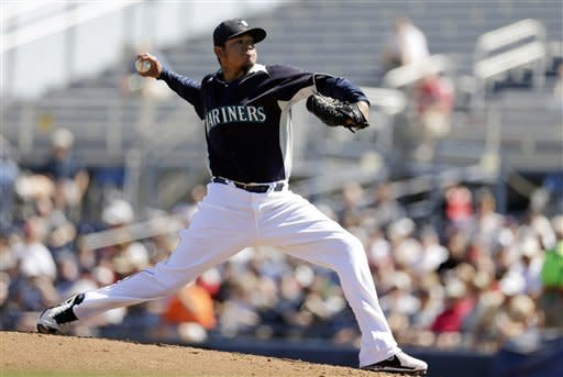 Felix Hernandez sharp for Mariners