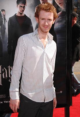 Chris Rankin at the Hollywood premiere of Warner Brothers' Harry Potter and the Order of the Phoenix