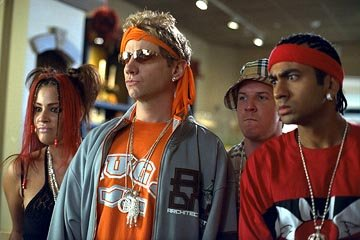 Keili Lefkowitz , Jamie Kennedy , Nick Swardson and Kal Penn in Warner Brothers' Malibu's Most Wanted