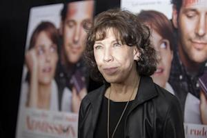 """Cast member Lily Tomlin poses at the premiere of """"Admission"""" in New York"""