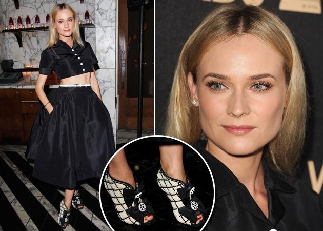 Diane Kruger: Bauchfrei - und verdammt schick in L.A. (Bilder: Getty Images)