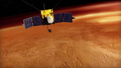 Mars and comets: a brief summary of this week's sweetest space news