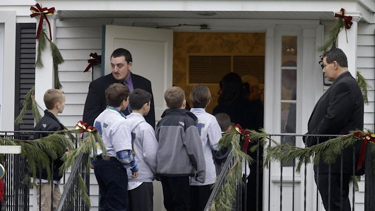 Jack Pinto, Monday, Dec. 17, 2012 in Newtown, Conn. Pinto was killed