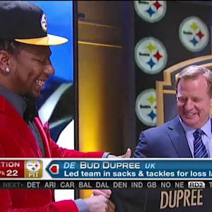 Pittsburgh Steelers pick defensive lineman Bud Dupree No. 22 in 2015 NFL Draft