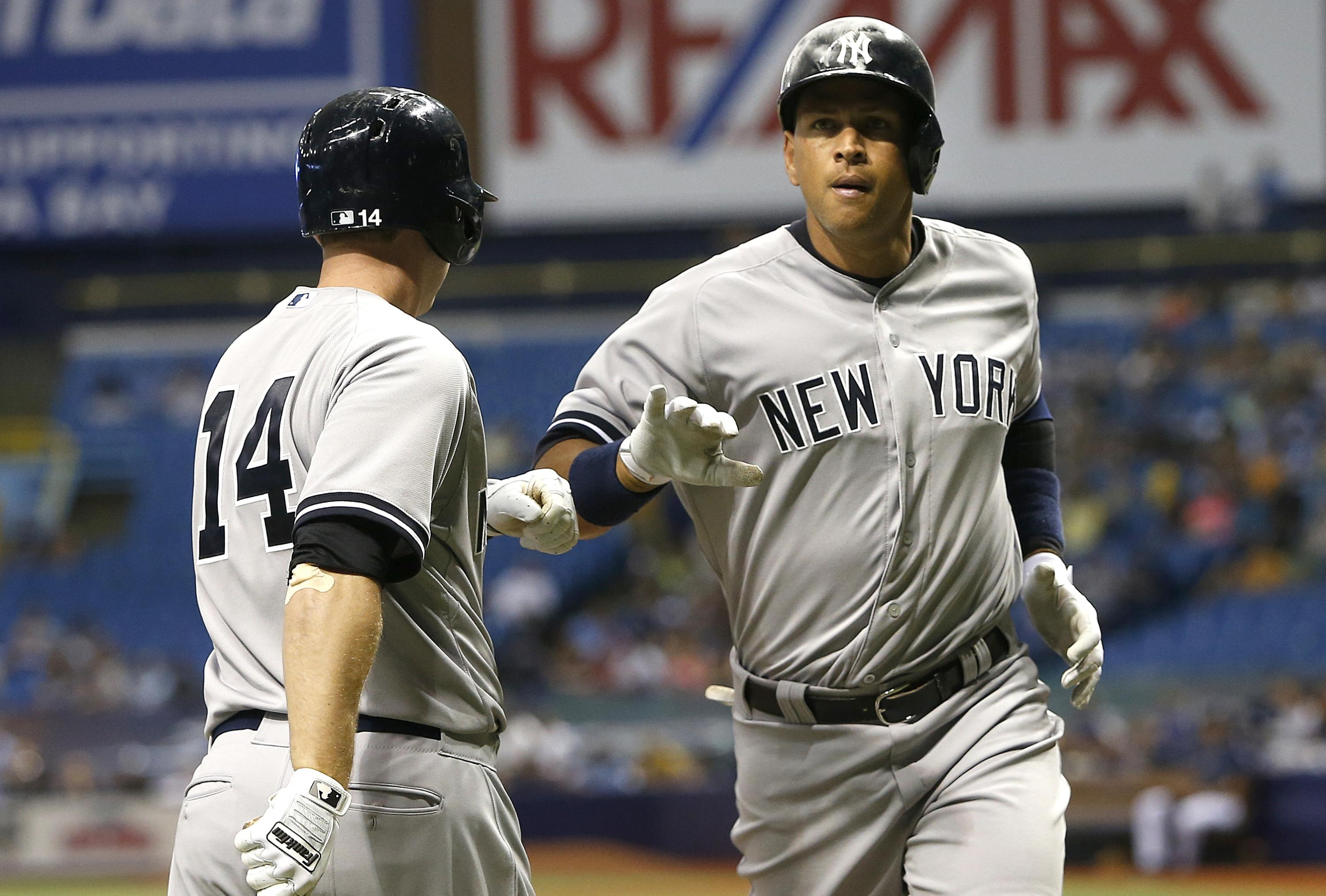 Alex Rodriguez mashes 477-foot home run at Tropicana Field