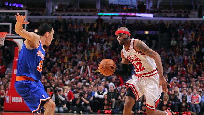 NBA: New York Knicks at Chicago Bulls