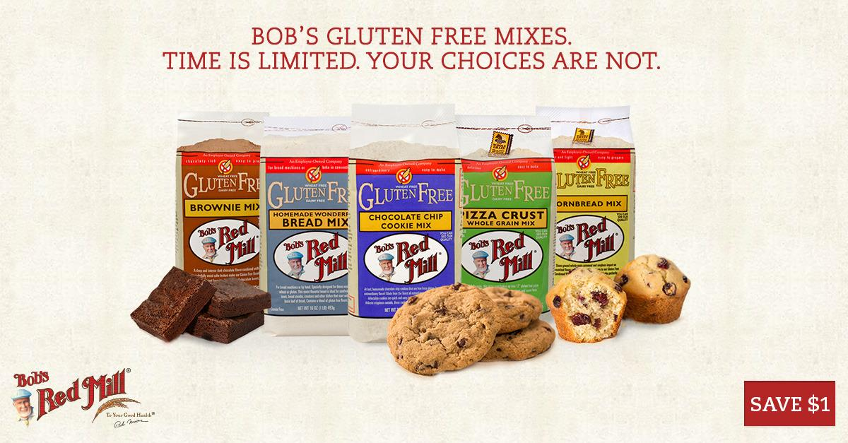 Bob's Red Mill - Gluten Free Mixes