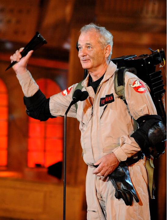 Bill Murray (Dr. Peter Venkman)