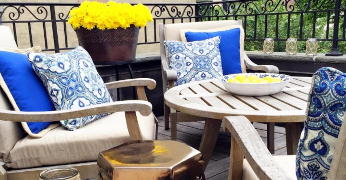 Summer Patio Makeovers By Pier 1 Imports