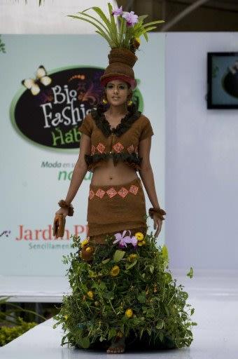 Fashion show of Plant Life