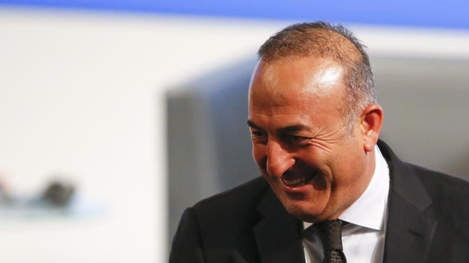 Turkey's Foreign Minister Cavusoglu arrives at the Munich Security Conference in Munich