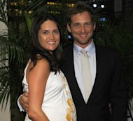 Josh Lucas and Jessica Ciencin Henriquez attend the after party for a special screening of &#39;To Rome With Love&#39; at Casa Lever in New York City on June 20, 2012 -- Getty Images