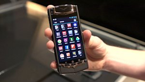 Vertu Ti, the $9,600 Android phone, gets the First ?-