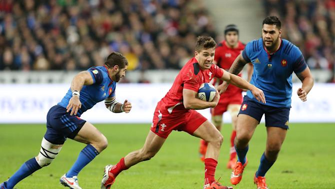 Rugby Union: Rhys Webb of Wales