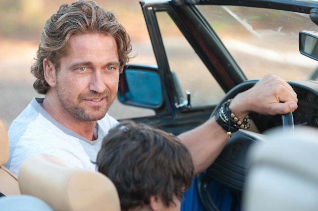 "This film image released by FilmDistrict shows Gerard Butler in a scene from ""Playing for Keeps."" (AP Photo/FilmDistrict, Dale Robinette)"