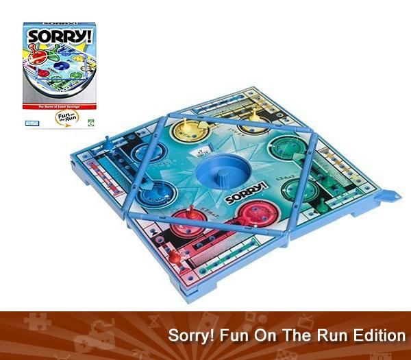 Sorry! Fun On The Run Edition